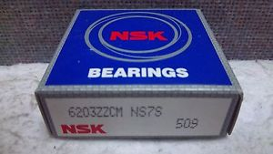 NSK BEARING 6203ZZ NEW 6203ZZCM NS7S