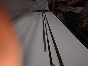 "TWO EXTRA LONG THK SR15 LINEAR RAILS SLIDES 107.25"" and 101.5"" long"