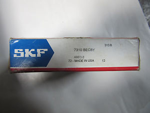 SKF 7310BECBY Heavy Duty Roller Bearing NEW!!! in Sealed Box Free Shipping
