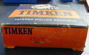Timken 456W Tapered Roller Bearing Free Shipping