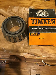 6376 Timken Tapered Roller Bearing