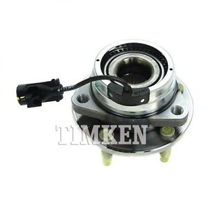 Front Wheel Hub & Bearing Assembly TIMKEN for Chevy Pontiac Saturn w/ABS