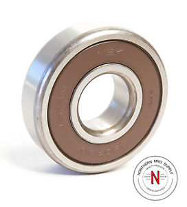 NSK 6304DU DEEP GROOVE BALL BEARING, 20mm x 52mm x 15mm, FIT C0, DBL SEAL