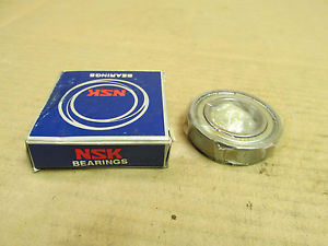 NIB NSK 6006Z BEARING METAL SEALED 1 SIDE 6006 Z 30x55x13 mm