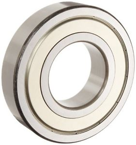 NSK 6202ZZC3 Deep Groove Ball Bearing, Single Row, Double Shielded, Pressed
