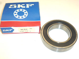 SKF SINGLE ROW SHIELDED RADIAL BALL BEARING 6009 2RSJEM