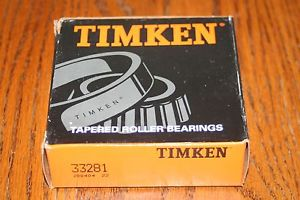 New Timken 33281 Tapered Bearing Single Cone