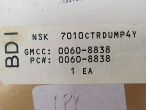 NSK 7010CTRDUMP4Y Super Precision Bearing Set (2) NIB