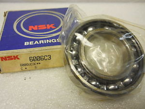 NSK 6006C3 DEEP GROOVE BALL BEARING 30 X 55 X 13MM NEW CONDITION IN BOX