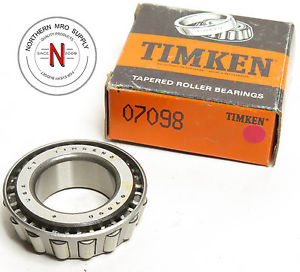 TIMKEN 07098 TAPERED ROLLER BEARING CONE