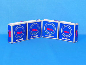 NSK 6004ZZC3 Bearings (New, Lot of 4 pieces)
