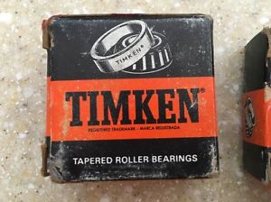 Timken L44649 Bearing New Old Stock 2 pcs Bearings Only With One Used cup
