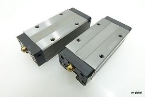 SHS15LV Lot of 2 THK Long type silent Linear Guide Bearing for replacement