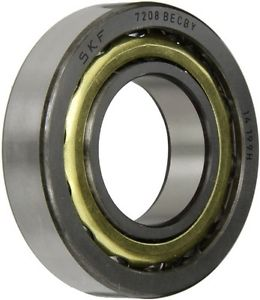 SKF 7208 BECBY Light Series Angular Contact Ball Bearing, Universal Mounting,