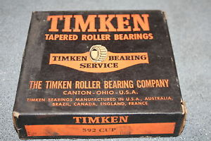Timken 592 Tapered Bearing Single Cup