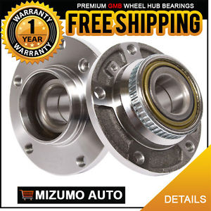 2 New Front Left and Right Wheel Hub Bearing Assembly w/ Tone Ring GMB 715-0075