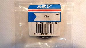 NEW IN FACTORY PACKAGE SKF 61806 BEARING