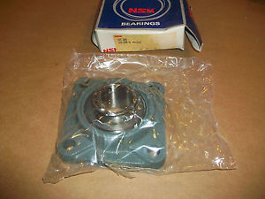 """NSK Flange Ball Bearing UCF209 NEW IN BOX 1 3/4"""" BORE"""
