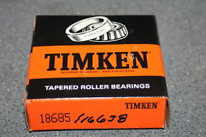 New Timken 18685 Tapered Bearing Single Cone