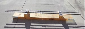 2 THK CAGED BALL LM GUIDE LINEAR BEARINGS & RAILS SSR20 2600mm 4 BLOCKS