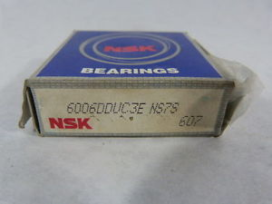 NSK 6006DDUC34 NS7S Single Row Ball Bearing ! NEW !