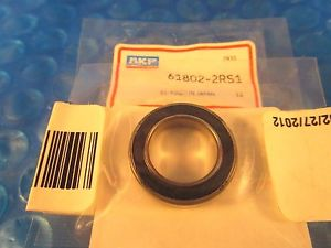 SKF 61802-2RS1 Single Row Radial Bearing