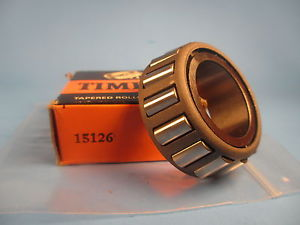 Timken 15126, Tapered Roller Bearing Cone