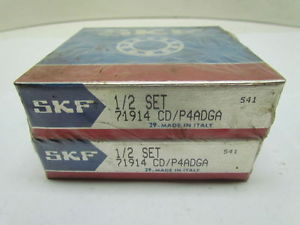 SKF 71914 CD/P4ADGA Angular Contact Bearings Set of 2