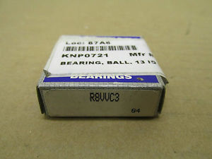 NIB NSK R8VVC3 BEARING RUBBER SHIELD BOTH SIDES R8 V VV C3 VVC3 R8VV R82RS