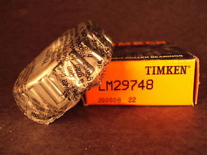 Timken LM29748 Tapered Roller Bearing Cone