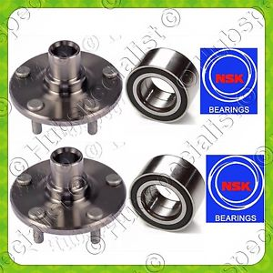 NSK FRONT WHEEL HUB & BEARING FOR LINCOLN MKX 2011-2015 FORD EDGE PAIR FAST SHIP