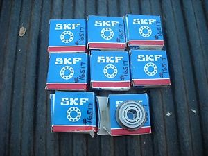 SKF 6200 2ZNRJEM Bearing. Lot of 8. New and Used?