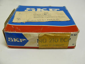 NEW SKF NU 210 ECP CYLINDRICAL ROLLER BEARING