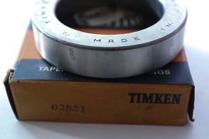 """""""NEW OLD"""" Timken Taper Cup Ball Bearing 02831 / 2831"""