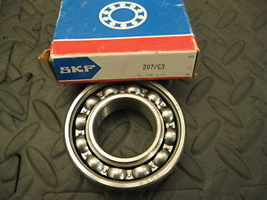 SKF 207 Bearing, 35mm x 72mm x 17mm