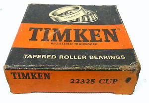Timken 22325 CUP Roller Bearing Cup