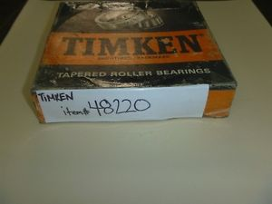 48220 Timken Tapered Roller Bearing Cup