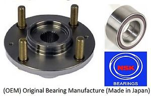 Front Wheel Hub & (OEM) NSK Bearing Kit For HYUNDAI SONATA 2002-2005