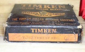 TIMKEN THRUST BEARING T-302