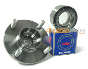 NSK Wheel Bearing w/Autocom FRONT Hub 841-81010 for Nissan Sentra 2.5L 02-06