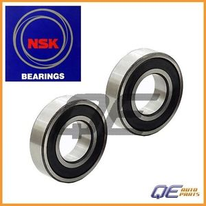 2 Rear Wheel Bearings NSK 887126151A For: Mazda 626 808 GLC RX-3 1979 1980-1982