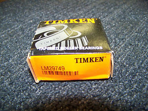 Timken Tapered Roller Bearing # LM29749 New
