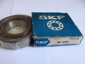 NJ 209 SKF New Cylindrical Roller Bearing Made In Germany