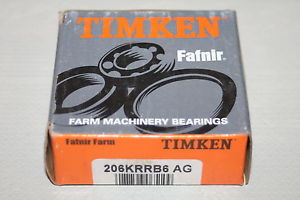 Timken 206KRRB6 AG Agricultural Bearing 206-KRRB6-AG Hex Bore * NEW