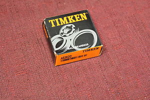 Timken AS3KDD New Single Row Ball Bearing New