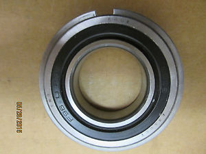 NEW, SNR 6006-2RSNR SEALED BALL BEARING W SNAP RING, PREM BRAND MADE IN FRANCE.