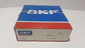 **NEW** SKF 3214 E/C3 ,Double Row Angular Contact Bearing