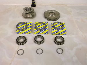 Astra M32 1.9 CDTi 6 sp Gearbox 6th gears & uprated SNR top casing bearings