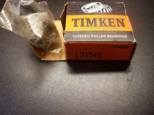 TIMKEN #L21549 Tapered Roller Bearings (NEW)