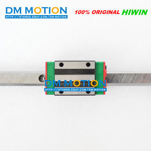 HIWIN HGR15 500mm Linear guide rail 4Pcs HGH15CA carriages 100% Genuine HIWIN